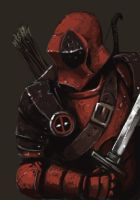 Fantasy Deadpool Speed Painting by FonteArt
