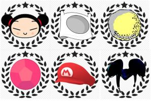 Retro Cup Icons by rabbidlover01