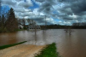 Road to Nowhere - Flood 2008 by Anachronist84