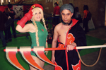 Cammy and Hidan cosplay by AsakuraYumiChan