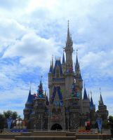 Tokyo Disneyland 30th Anniversary Castle by RubyReminiscence