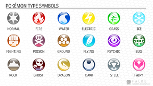 Pokemon Type Symbols (Downloadable) by falke2009