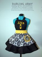 221B Baker Street - Sherlock - Cosplay Pinafore by DarlingArmy