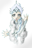 The Snow Queen Ballet by theghostlyartist