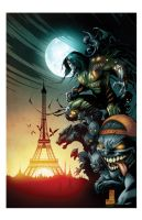 The Darkness in Paris by Gabriel-Cassata