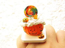 Happy Halloween Candy Ring by souzoucreations