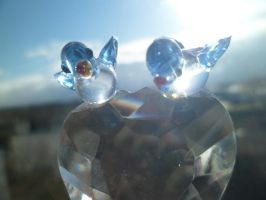 Crystals in the Sun by CaprihinaGirl