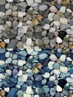 Tileable Stone Texture with 2 Colors by elemis