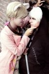 Say 'Da'~ [APH Halloween Russia and Prussia] by Milukyo