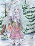 Ester- little snow witch. by maru-redmore