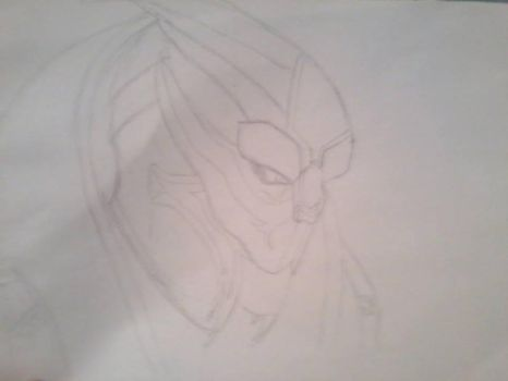 OC Turian Adrien Valkyrie - Extreme WIP by BySesshomarusGrace