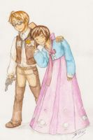 Cowboys and Hanboks by gohe1090