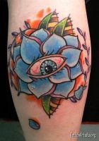 All Seeing Rose Version 2.0 by EricScsavnickiTattoo