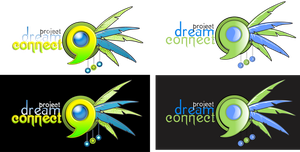 Project Dreamconnect Logo Rake 2 by AnatneM-Studios