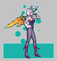 Battle Bunny Riven by GloriaLoveart