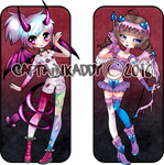 Anti-Cupid and Succubus V-day Adoptables by CaptainKaddy