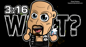 Stone Cold Steve Austin -  WWE Chibi Wallpaper by kapaeme