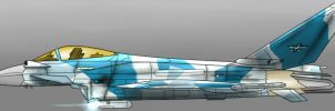 Royal Arendelle Air Force EF2000S Typhoon by PAK-FAace1234