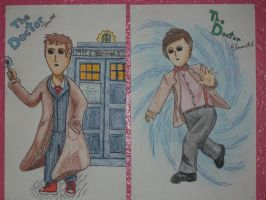 Manga Doctor Who-Ten and Elven by DragonsAndDreamscape