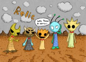 the relic team by CrazyTree101