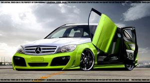 Merc benz C63 Estate by LEEL00