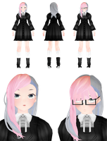 .:Saaa she is maybe multiple personality disdos:. by StylinSorrowMMD