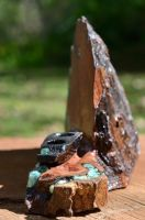 Mesquite Ebony Pencil Holder by lamorth-the-seeker