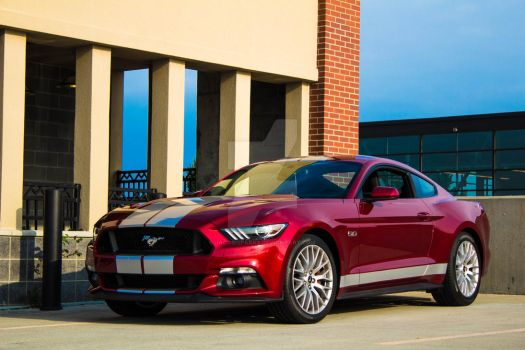 2016 Ford Mustang by JacobiSparks