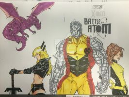 Xmen Blank Cover by Drakelb