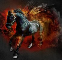 Ride the fire horse by ultradialectics