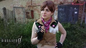 Rebecca Chambers RE0 cowgirl cosplay VIII by Rejiclad