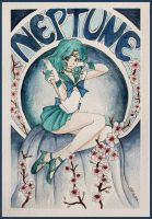 Sailor Neptune by SallyGipsyPunk