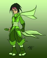 Scyther Ninja Tracey by y2jchampion