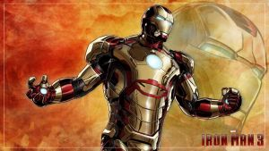 Wallpaper - IRON MAN 3 - Mark 42 by doni-akira