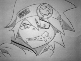 Soul 'Eater' Evans by Hisatoo