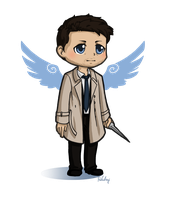Castiel stickers preview by Poledrey