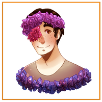 :SnK: Flower Crown Marco by Tangwi
