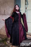 Gothic dress Amaranth by DanielleFioreModel