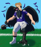 NFL TF #1: Poe the Raven by Pheagle-Adler