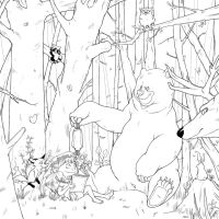 Forest by Caelys-illustrations