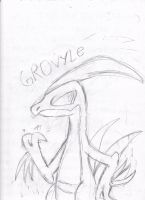 Shadow Grovyle by Sonic-chaos