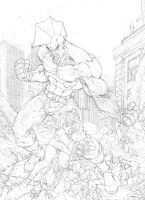savage dragon pencil by pant