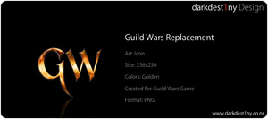 Guild Wars Icon by darkdest1ny