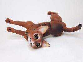 Jacob, Abyssinian Cat Ball Jointed Doll!  5 by vonBorowsky