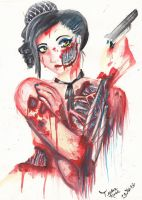 .:Zombie Assassin:. by The-Sweetest-Lolita