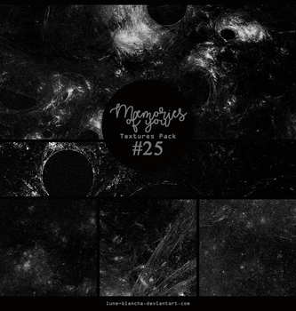 Textures pack #25 - Memories of you by lune-blanche