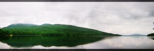 Flagstaff Lake, Maine by twistedCaliber