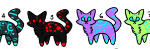 10 Common Android Cats {OPEN} PRICE LOWERED by OctoPastaAdopts