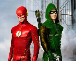 Arrow and Flash the comic book look. by stick-man-11