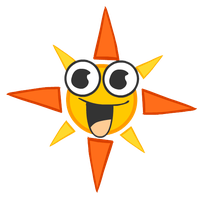 such a happy SUN by suki-red